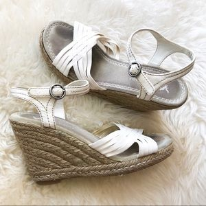 American Eagle | Open Toe Wedges | Size 7